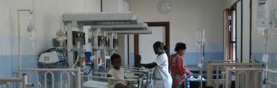 Monkole, een medisch centrum, is in 1987 in Kongo opgericht