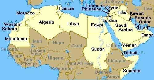 Mondo Arabo Cartina.Il Website Di San Josemaria In Arabo Opus Dei