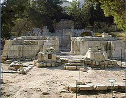 Bazylika w antycznym Nikopolis.