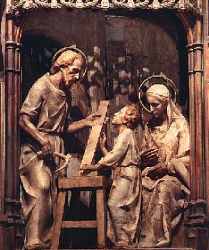 Imagem do retábulo do Santuário de Torreciudad