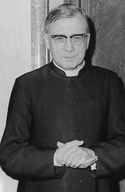 Saint Josémaria en juin 1971