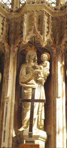 Oxford. Vor diesem Bild verweilte der hl. Josefmaria, um ein 'Memorare' zu beten