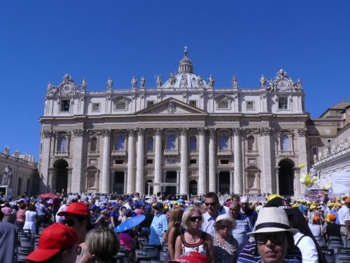 All'udienza del mercoledì in Piazza San Pietro