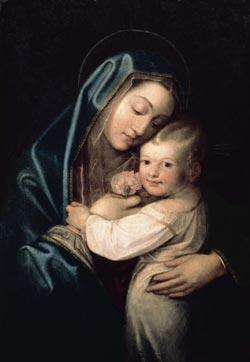 """""""La Vierge à l'Enfant coiffé"""""""