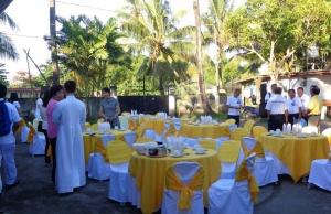 Gerona (Tarlac, Philippines) la paroisse dédiée à saint Josémaria a fêté son saint patron avec une procession, suivie d'une Messe solennelle et d'une fête pour les enfants.
