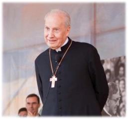 Mons. Javier Echevarría, Prelado do Opus Dei, em Córdoba