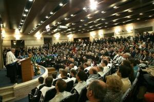 Imagine a ceremoniei de inaugurare a anului universitar 2009-2010