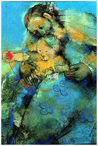"""""""Filiation divine"""" de Marieta Quesada."""
