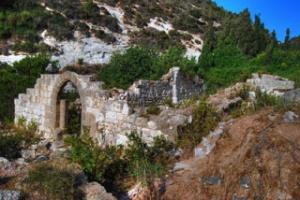 Die Überreste in Wadi es-Siah gehen auf das 12. und 17. Jahrhundert zurück. Foto: www.biblewalks.com