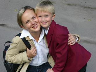 Nataschas Leben änderte sich dank der Frau, die sich um ihren Sohn kümmerte und dank ihrer Neugier