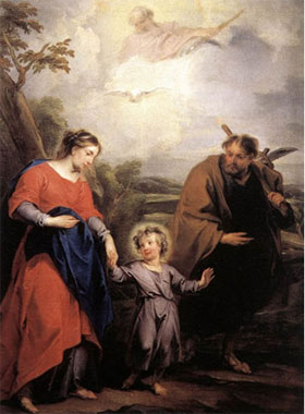 """Jacob de Wit, """"Sainte Famille et Trinité »"""