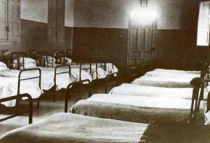 Einer der Krankensäle iml Hospital del Rey