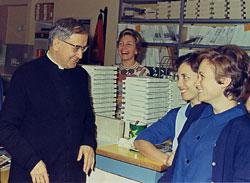 W Rzymie, w 1973 r.