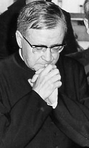 Der hl. Josefmaria bei seinem Besuch in Fatima, 1972