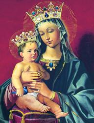 Obraz Najświętszej Maryi Panny Królowej Pokoju