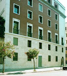 Fasada ulaza Crkve Prelature,  Bruno Buozzi, 75