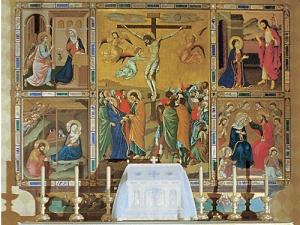 Pala d'altare della Cappella del Santissimo Sacramento
