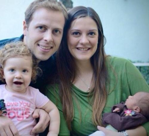 Sofía mit ihrer Familie
