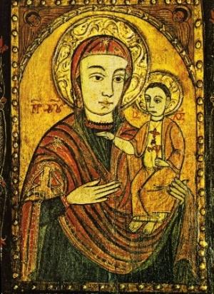 Gnadenbild in der Kapelle von Maria Pötsch im Wiener Stephansdom