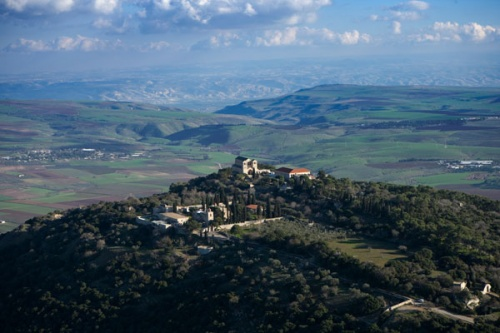 Mont Thabor: basilique de la Transfiguration - Opus Dei