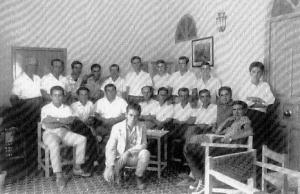 Première promotion d'étudiants à Torrealba