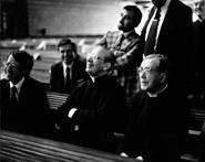 Torreciudad, Huesca, Espagne, de nombreuses familles et beaucoup de jeunes ont participé à la messe en l'honneur de Saint Josémaria au sanctuaire de Torreciudad.