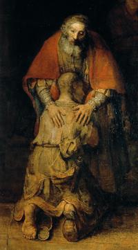De terugkeer van de verloren zoon - Rembrandt