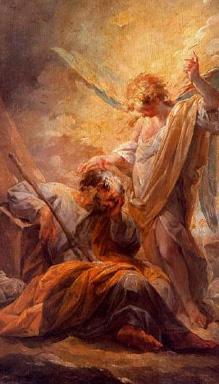 """""""Le sommeil de saint Joseph"""" de Vicente López Portana, Musée du Prado"""