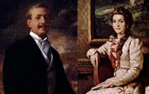 Don José Escrivá und Doña Dolores Albás
