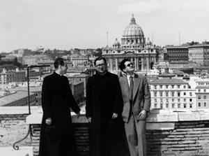 Während seiner ersten Tage in Rom.