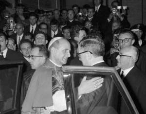 21. November 1965: Paul VI. eröffnet das Centro ELIS in Rom.