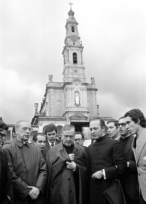 Der heilige Josemaría in Fatima im November 1972.