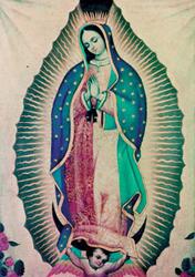 Een afbeelding van Onze Lieve Vrouw van Guadalupe, Mexico