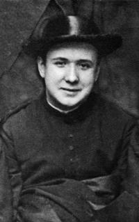Der heilige Josemaría als Seminarist.