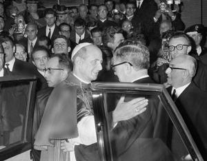 21 de noviembre de 1965, Pablo VI inaugura el Centro ELIS, en Roma
