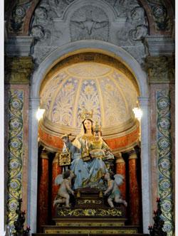 Die Skulptur der Muttergottes vom Berge Karmel in Stella Maris. Foto: Leobard Hinfelaar