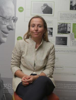 Teresa Sadaba, glasnogovornica organizacijskog odbora