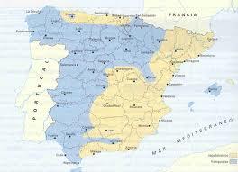 Das geteilte Spanien 1937