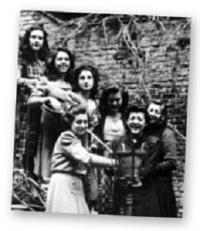 Studentinnen von  Zurbarán, April 1957