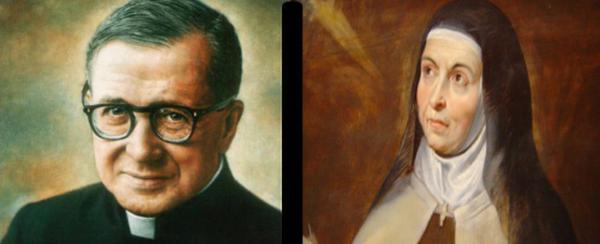 Theresia von Avila und der hl. Josefmaria