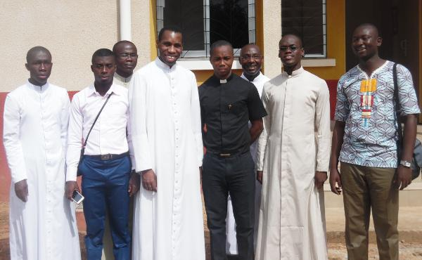 Opus Dei - With Seminarians in Abidjan, Ivory Coast