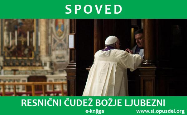 """Opus Dei - E-knjiga """"Spoved – resnični čudež božje ljubezni"""""""