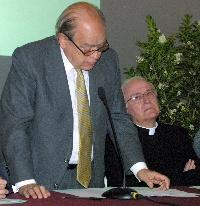 Jordi Pujol a la presentació de les activitats de Braval.