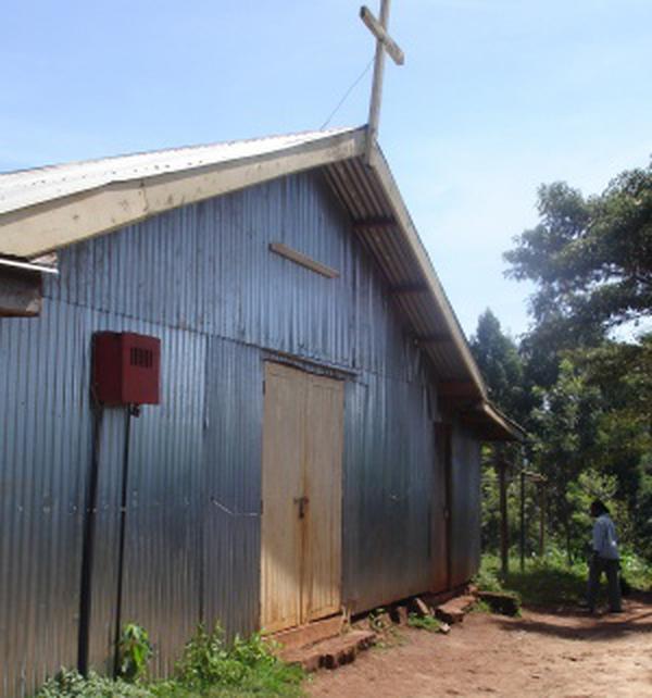 L'église Saint-Josémaria à Mukaya