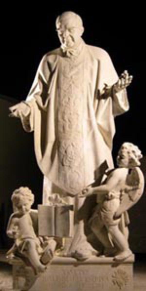 En staty av den helige Josemaría uppförs vid Peterskyrkan