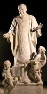 Šventojo Josemarios statula Šv. Petro Bazilikoje