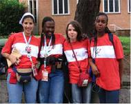 Strathmore Volunteers at the 2005 World Youth Day