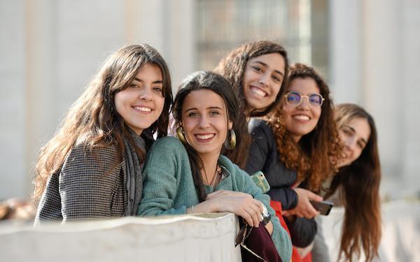 Studenti universitari di tutto il mondo si riuniscono a Roma