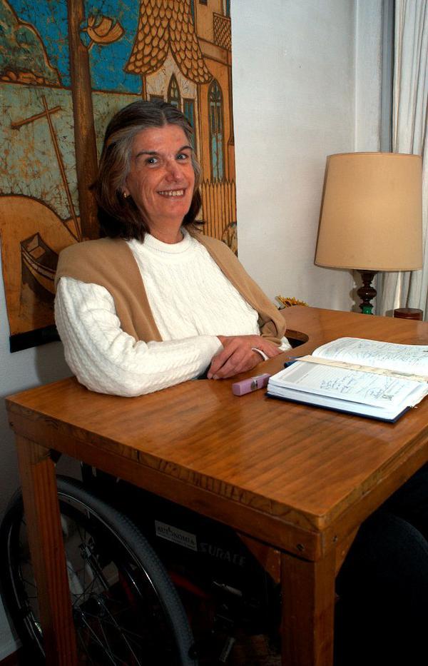 Apoyando a la Iglesia desde una silla de ruedas