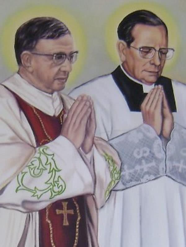 Un tableau pour la Cathédrale de Yaoundé